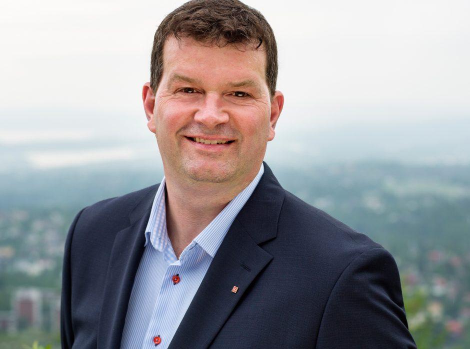 Hans-Christian Gabrielsen, nestleder i LO.