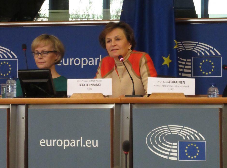 LULUCF-seminar i  EU-parlamentet januar 2017