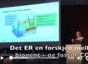 Bærekraftig biodrivstff er bedre enn fossilt