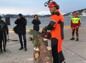 Nye Namsos tømmerkai åpnet