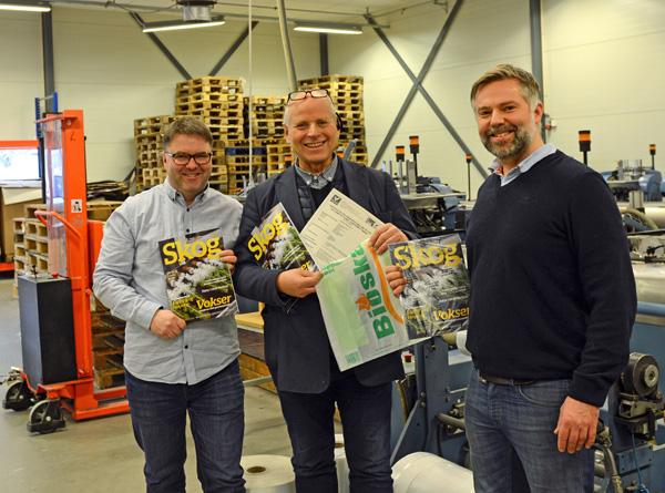 Bioska 501 er en mer miljøvennlig emballasje enn plast, og kan kastes med matavfallet eller i hjemmekomposten, er oppfordringen fra Åsmund Lang (undertegnede er redaktør i Skog), Tore Wold, Thomas Bratli.