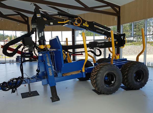Vreten tømmervogn og andre Vreten-produkter vil bli produsert og solgt også i framtiden, selv om Vreten AB i Sverige gikk konkurs i april.