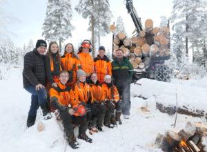 Hvordan fikk skogskolen 5,5 millioner til nytt utstyr?