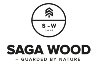 Saga Wood logo