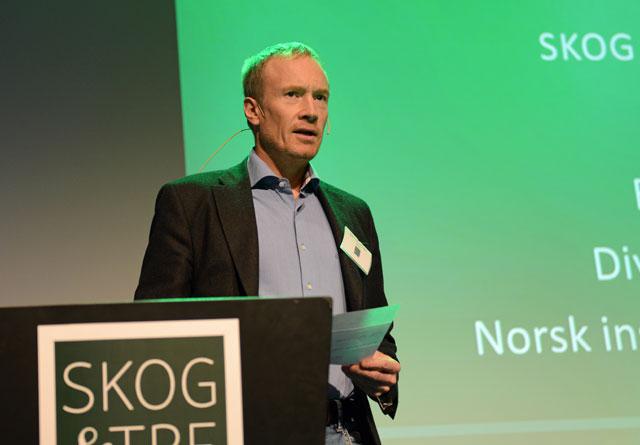 Bjørn Håvard Evjen i Nibio mener det er mulig å øke hogsten i Norge i årene som kommer.