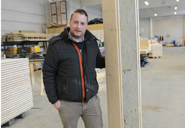 Henning Thorsen er gründer og daglig leder i Termowood.