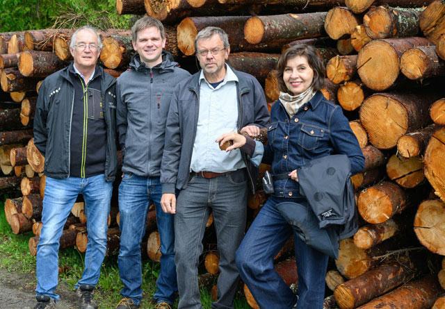 Noen av forfatterne bak NIBIO-rapporten om treimport er Halvor Solheim, Johannes Rahlf, Bjørn Økland og Isabella Børja.
