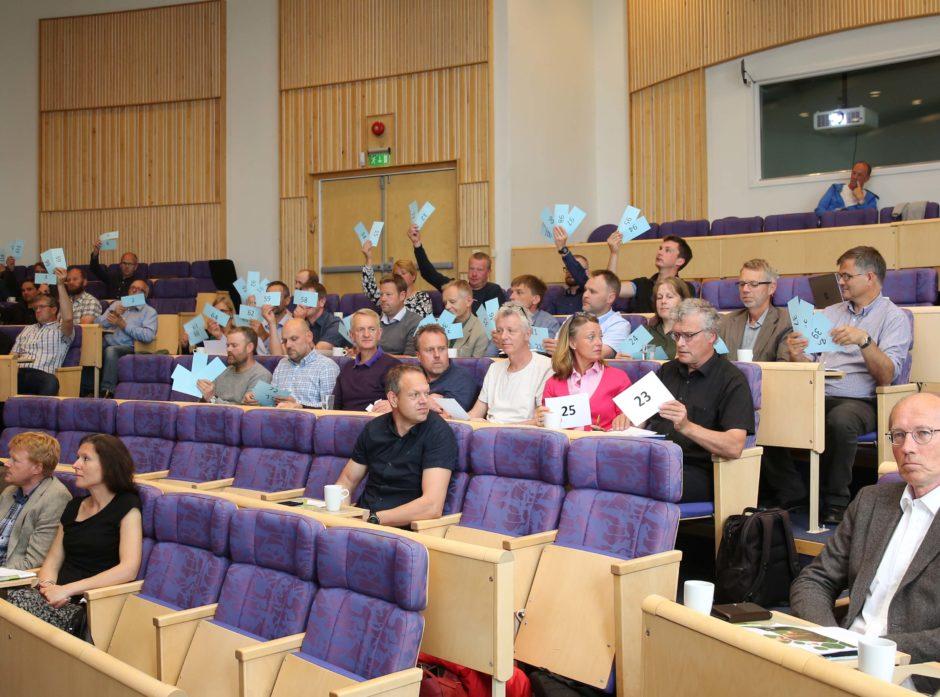 Her stemmer Mjøsens delegater ja til å gå i  fusjon med Glommen Skog SA.