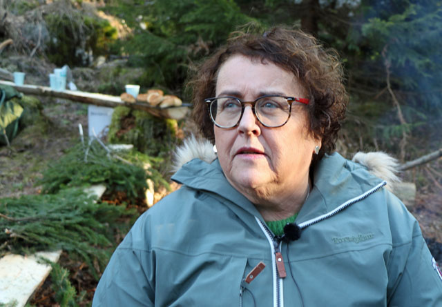 Skogen er en del av løsningen sa Bollestad da hun åpnet årets digitale Skog og Tre arrangement