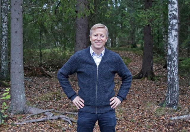 Per Skorge er administrerende direktør i Norges Skogeierforbund.