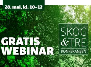 Skog & Tre arrangerer webinar!