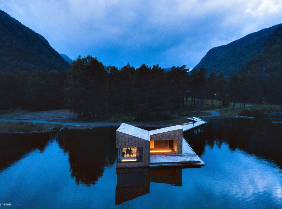 Soria Moria sauna. Foto: Dag Jenssen.