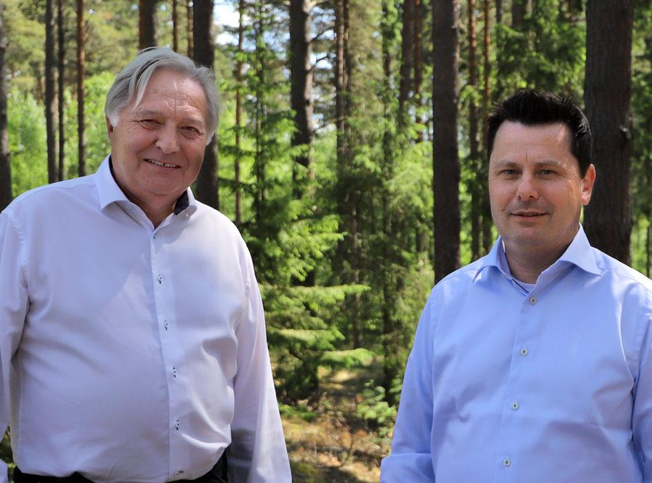 Olav Breivik og Tor Henrik Kristiansen Foto Bjørn Hugo Pettersen