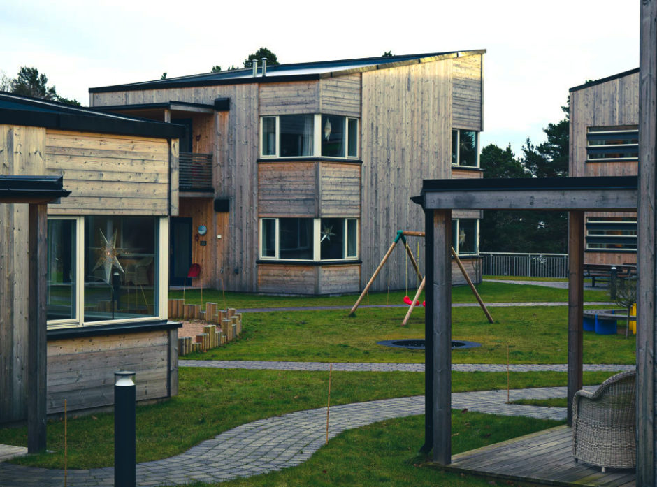 Stine Sofie senteret i Grimstad. Foto: Stian Herdal.